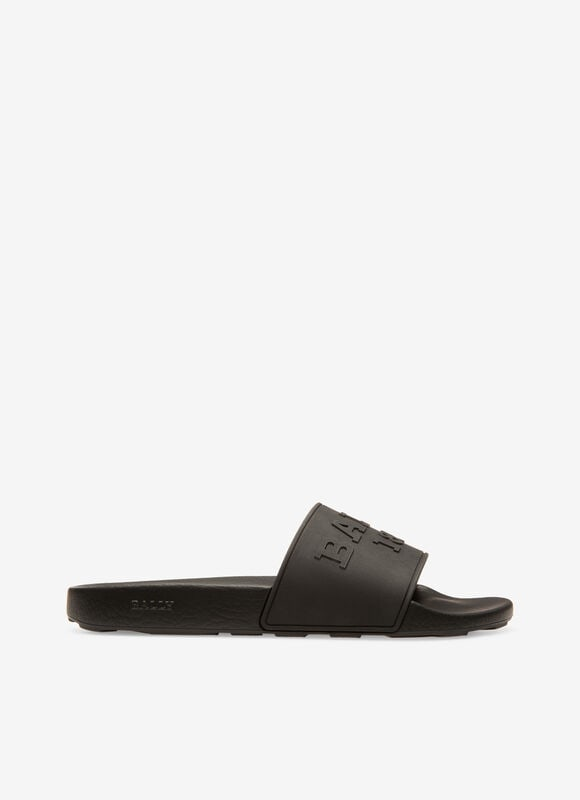 NEGRO RUBBER Sandalias y chanclas - Bally