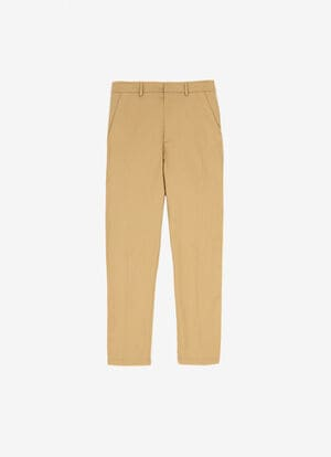 MARRóN MIX COTTON Pantalones - Bally