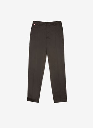 NEGRO MIX COTTON Pantalones - Bally