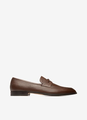 MARRON DEER Mocassins - Bally