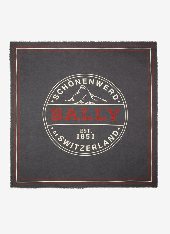 GRIS MIX WOOL Bufandas y pañuelos - Bally