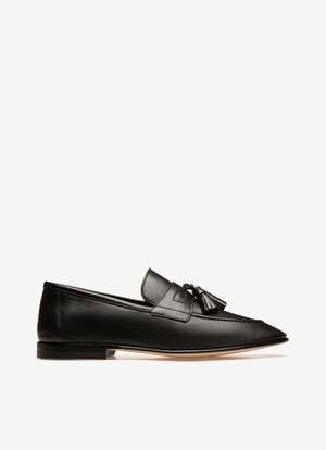 NEGRO CALF Mocasines y loafers - Bally