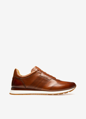 MARRON CALF Sneakers - Bally