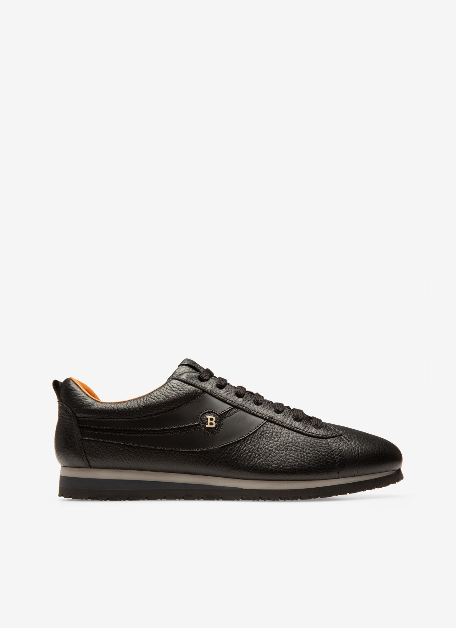 BREDY| Mens Sneakers | Black Leather