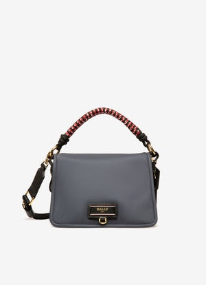 BLUE NYLON Cross-body Bags - Bally