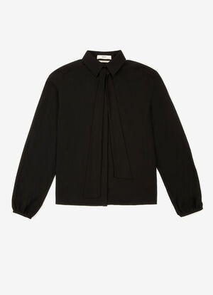 NEGRO COTTON Camisas, blusas y camisetas - Bally
