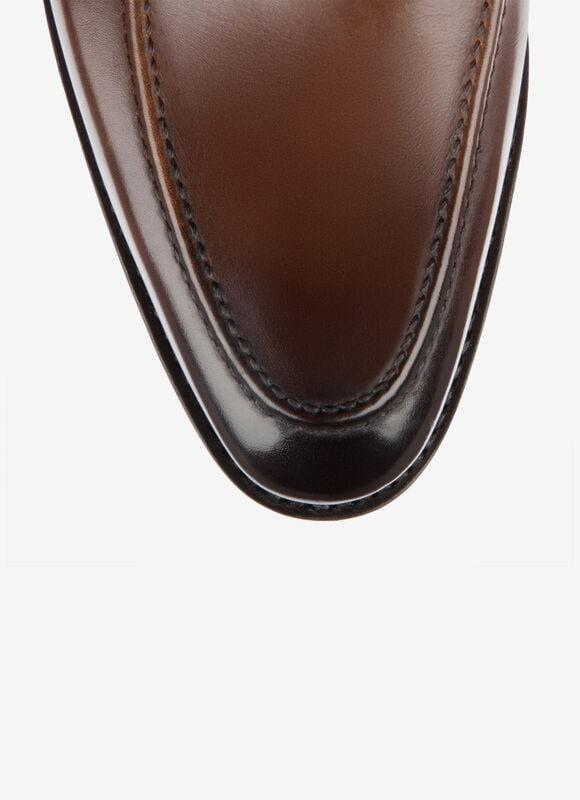 MARRóN CALF Mocasines y loafers - Bally