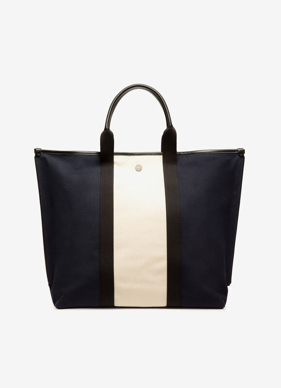BLUE FABRIC Tote Bags - Bally