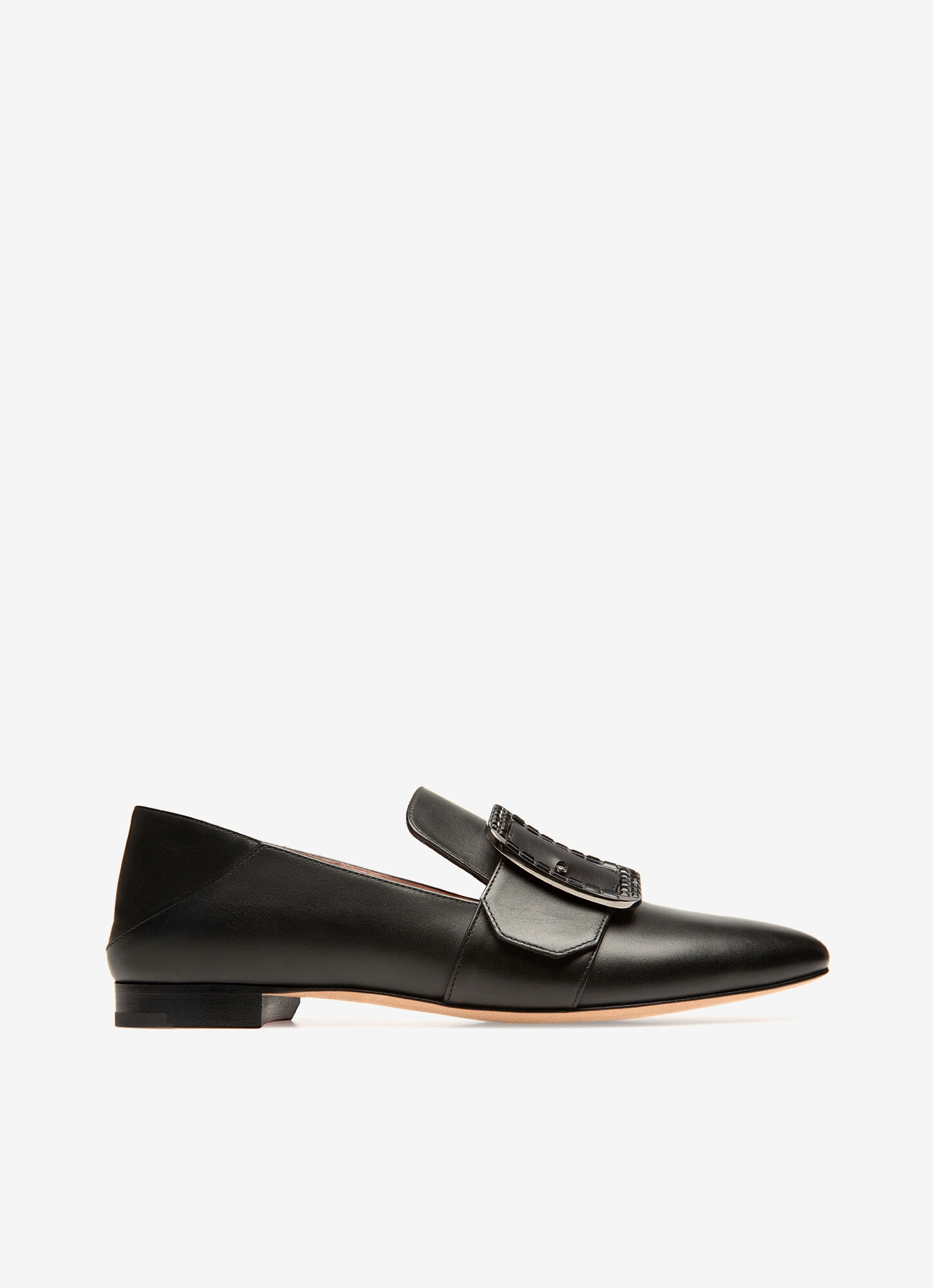 Womens Loafers | Black Leather | Bally