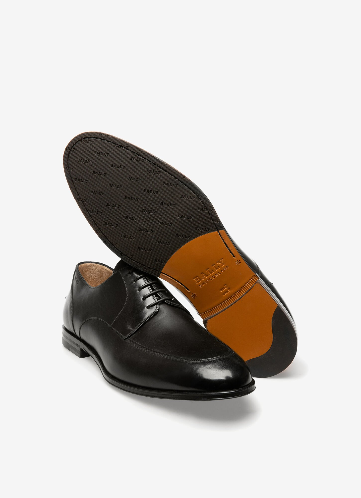 Wedmer  Mens Lace-Ups   Black Leather