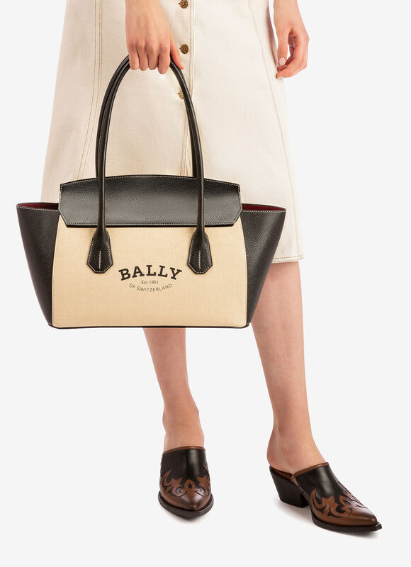 MARRON FABRIC Sacs à main - Bally