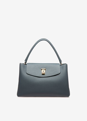 BLUE CALF Top Handle Bags - Bally