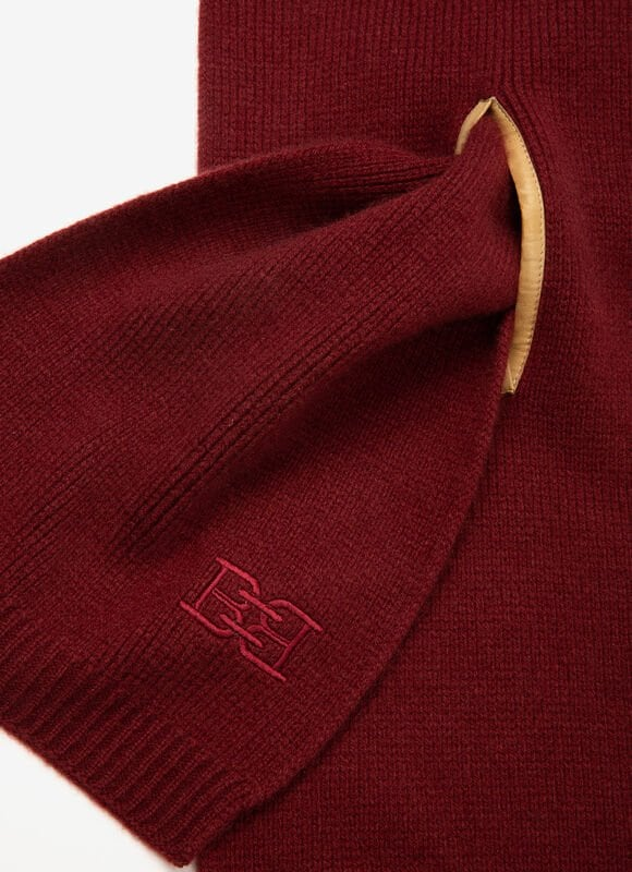 BORDEAUX MIX WOOL Écharpes - Bally