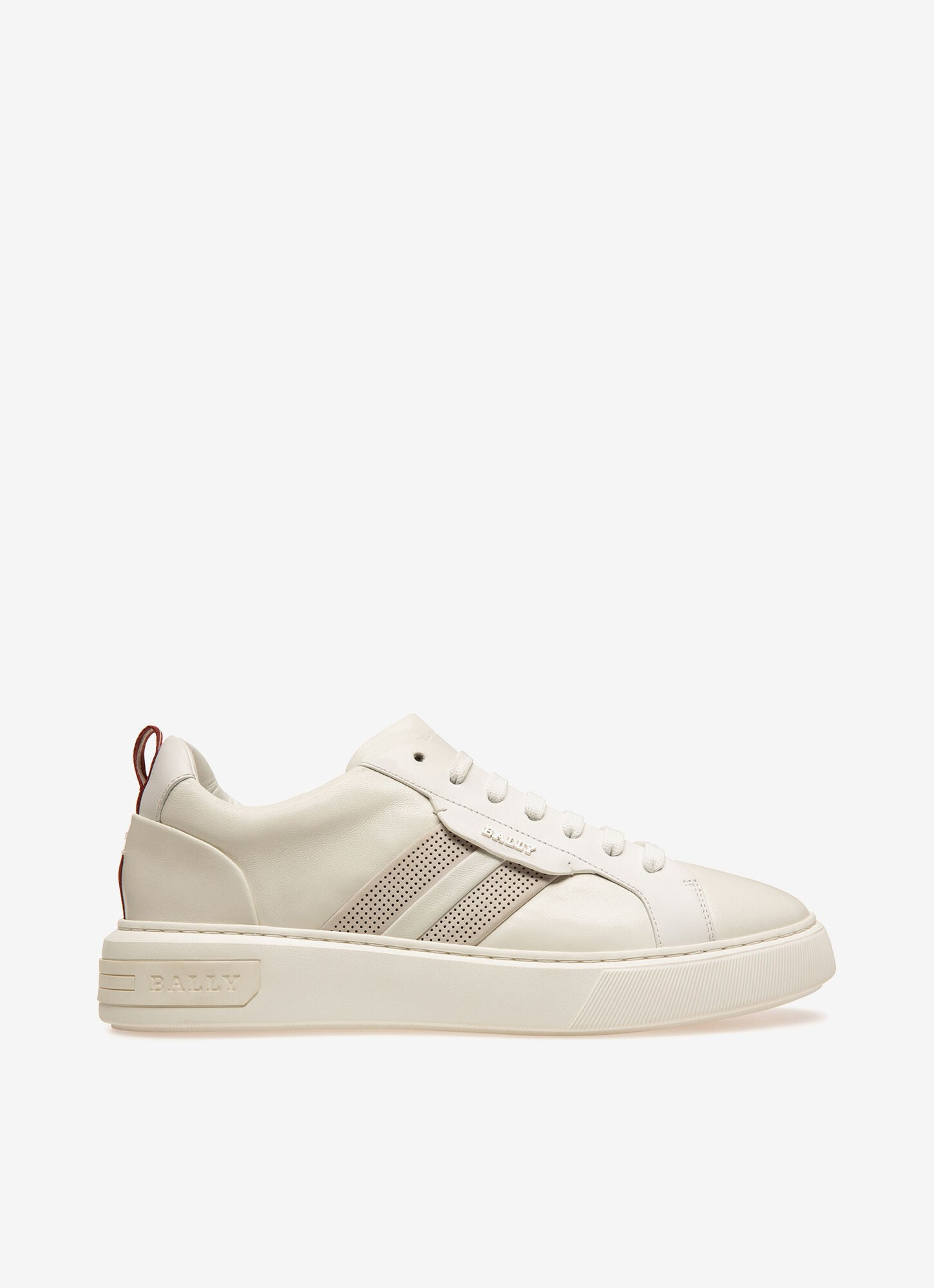 Maxim| Mens Sneakers | White Leather