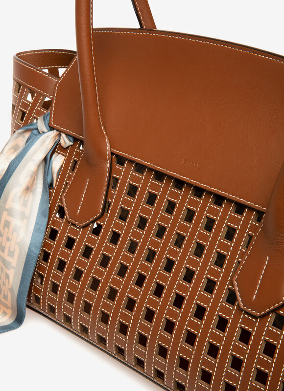 MARRóN CALF Bolsos con asas - Bally
