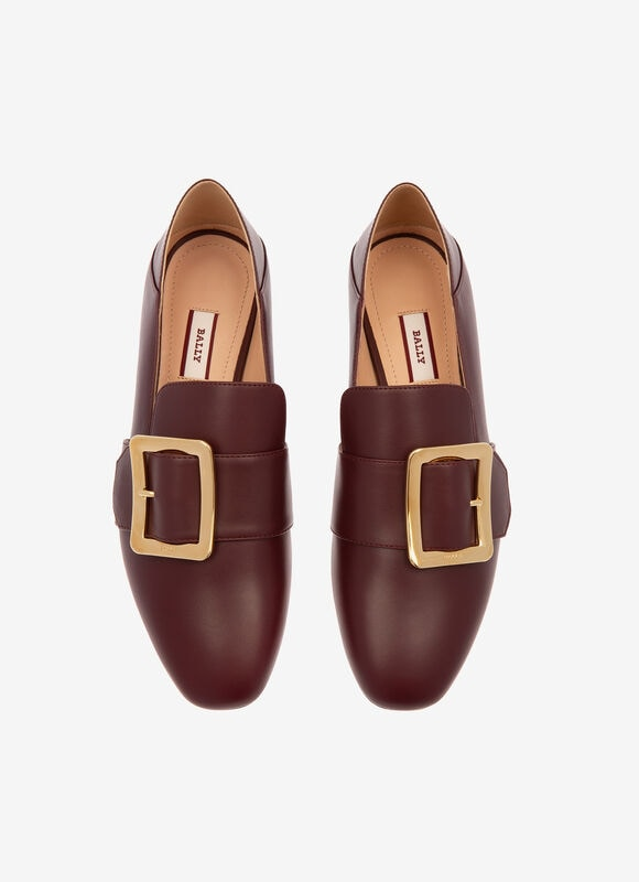 BORDEAUX CALF Chaussures plates - Bally