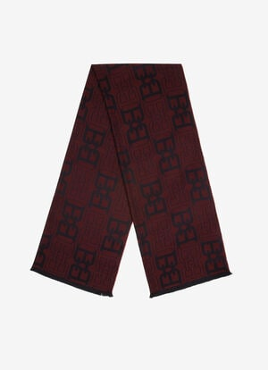 RED WOOL Scarves - Bally