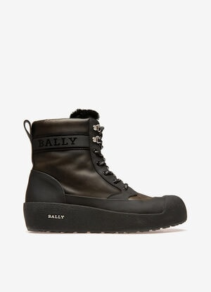 GRÜN CALF Snow Boots - Bally