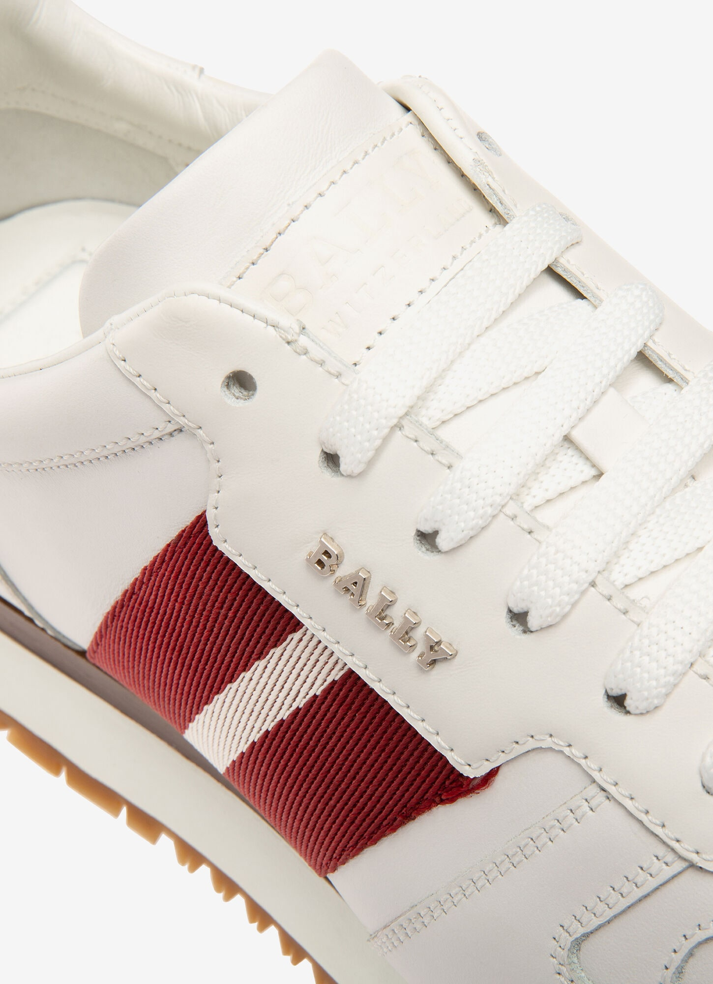 Astel| Mens Sneakers | White Leather