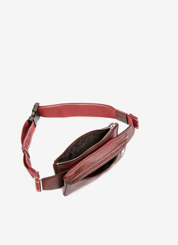 BURGUNDY BOVINE Belt Bags - Bally