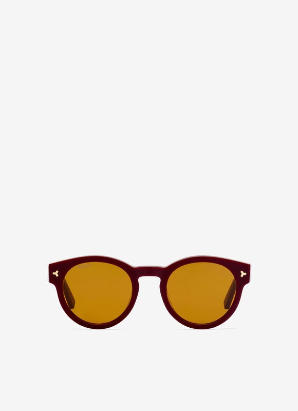 BURGUNDY PLASTIC Sunglasses - Bally