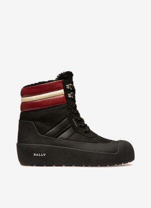 SCHWARZ CALF Snow Boots - Bally