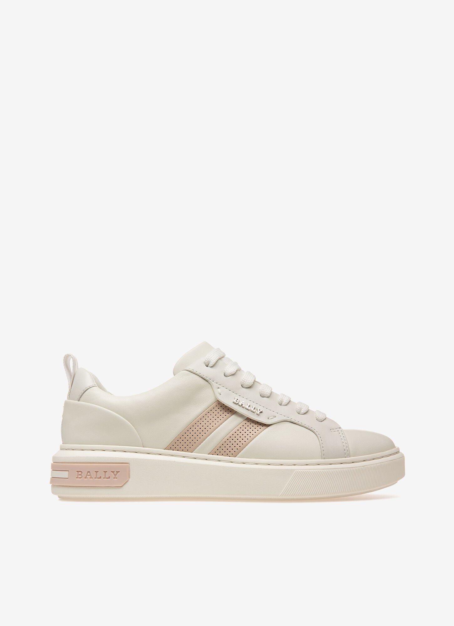 Maxim| Womens Sneakers | White Leather