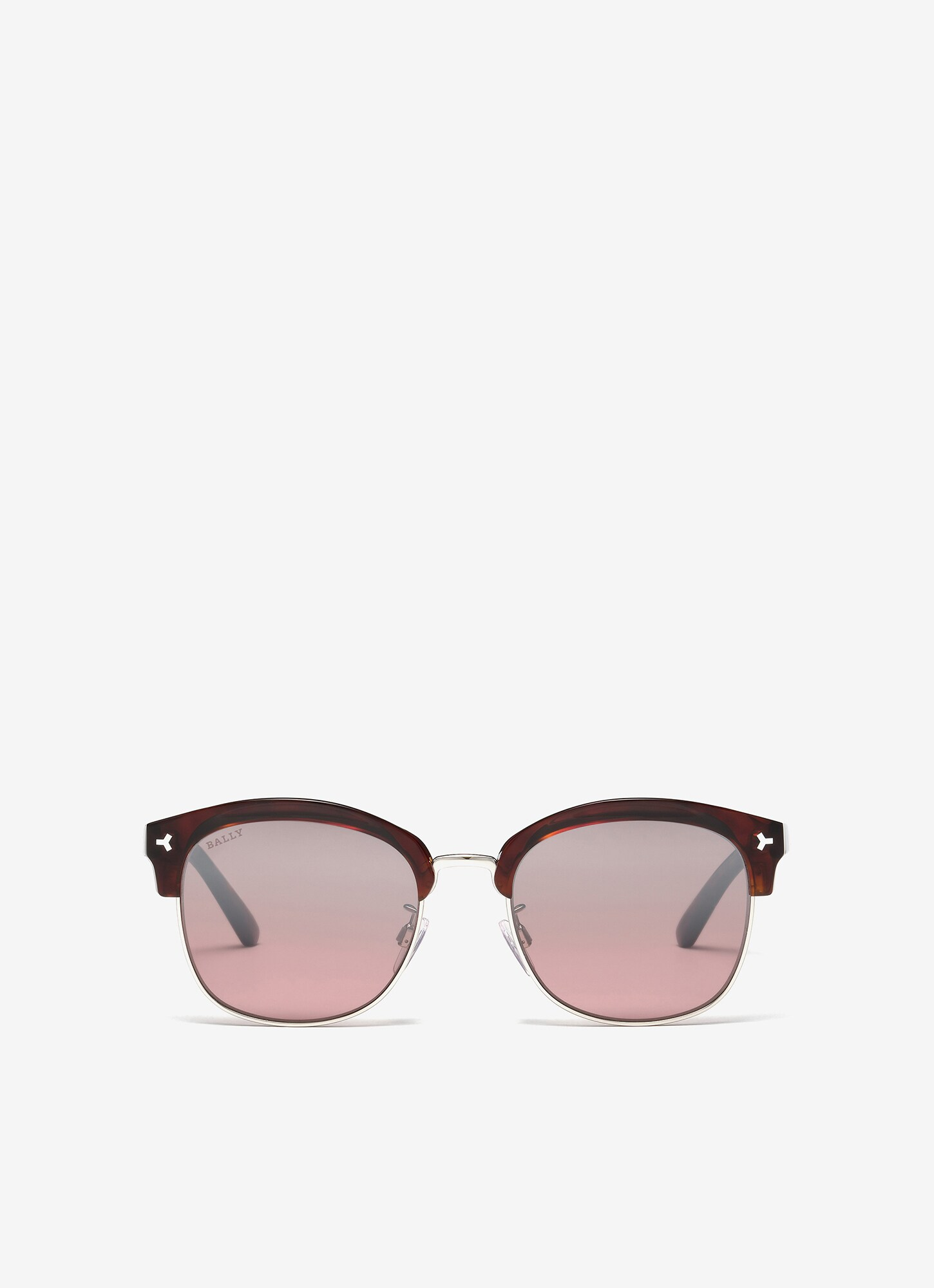 HYPE BROWLINE SUNGLASSES| Unisex Sunglasses | Havana Acetate | Bally